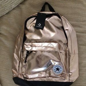 🌟Brand New🌟 Converse Rose Gold Backpack